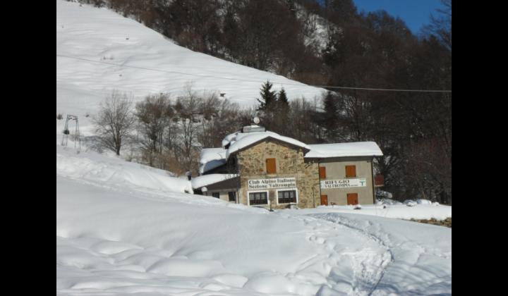 Rifufio Cai Valtrompia in località Pontogna mt. 1260