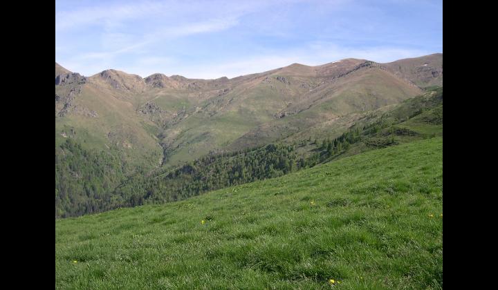 Paeasggio visto dal Monte Guglielmo