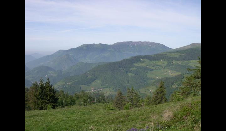Paesaggio visto dal Monte Guglielmo