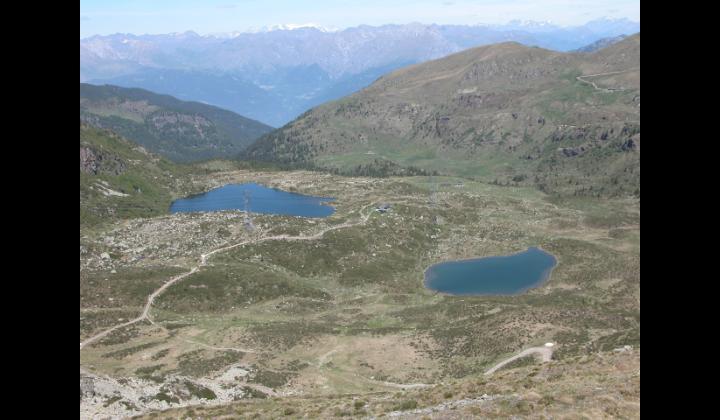 I laghetti di Ravenola Vaga nelle vicinanze del Monte Maniva