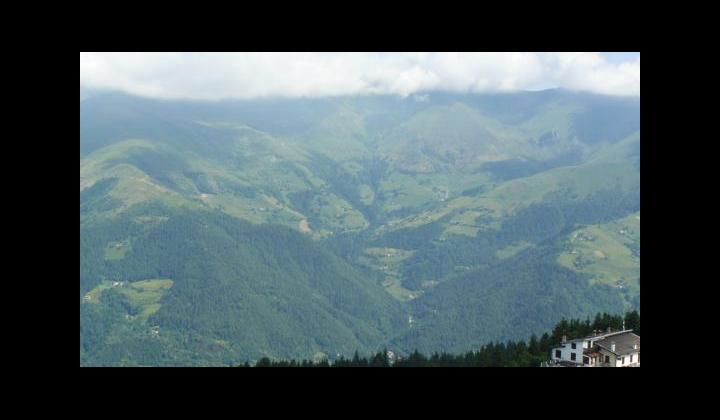 La Valle Trompia vista dal Colle di San Zeno