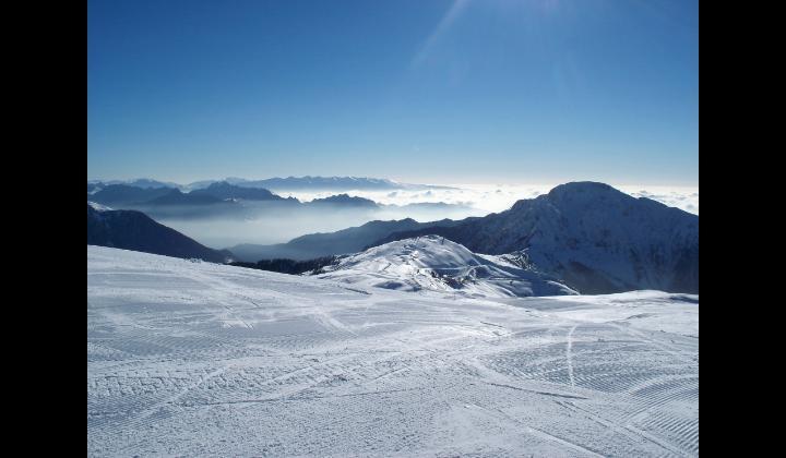 L'albergo Bonardi e le piste da sci