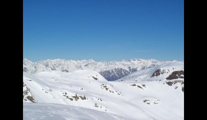 L'Adamello mt. 3554 e la Valle Camonica