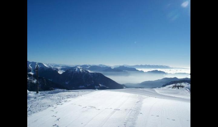 Vista panoramica verso il lago di Garda