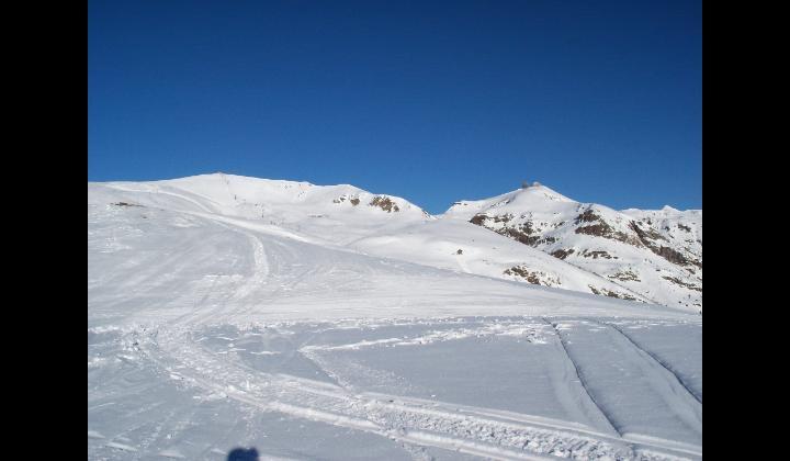 Dosso dei Galli e le piste da sci