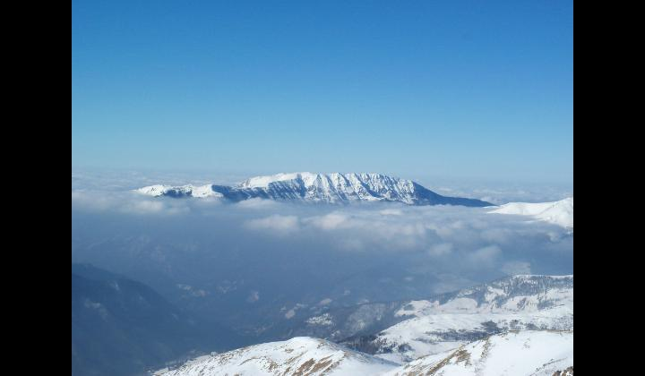 Il Monte Guglielmo e la Valle Trompia