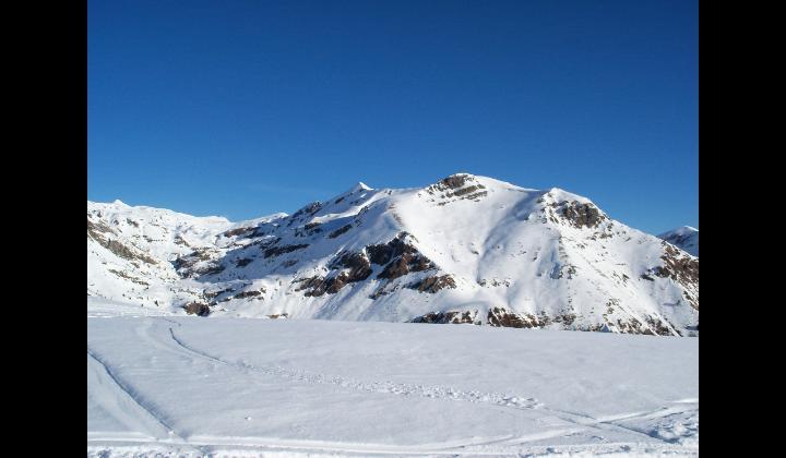 Viste dei monti innevati dal Monte Dasdana