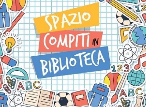 Spazio compiti in biblioteca